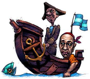 Una de piratas.