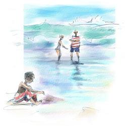 Apuntes a la orilla del mar