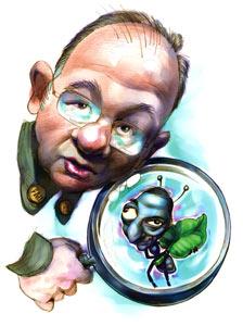 La duda del entomólogo.